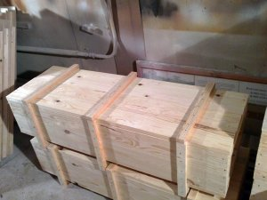 Ящик деревянный 1300х500х350