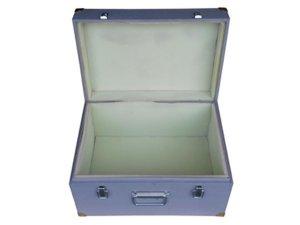 Ящик фанерный крашенный с мягкой обивкой 500x500x150