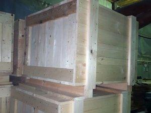 Ящик деревянный 1000х600х800