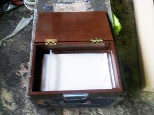Ящик для ножей 400x300x100