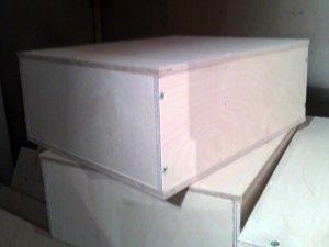 Ящик фанерный 300x200x100