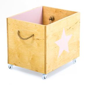 ящик для игрушек из фанеры